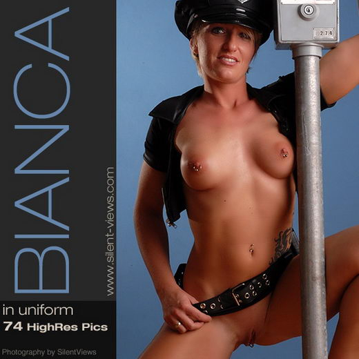 Bianca - `#166 - In Uniform` - for SILENTVIEWS