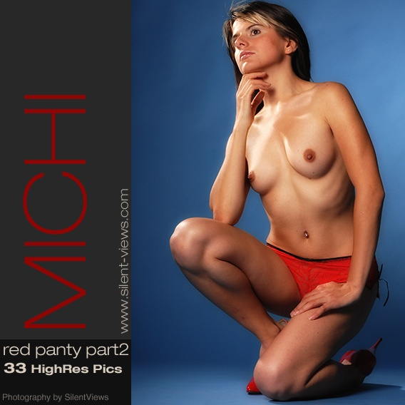 Michi - `#186 - Red Panty 2` - for SILENTVIEWS