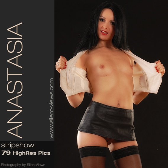 Anastasia - `#187 - Stripshow` - for SILENTVIEWS