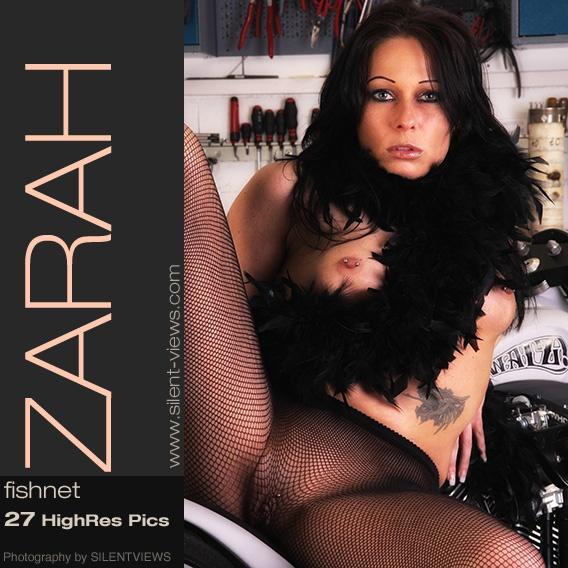 Zarah - `#188 - Fishnet` - for SILENTVIEWS