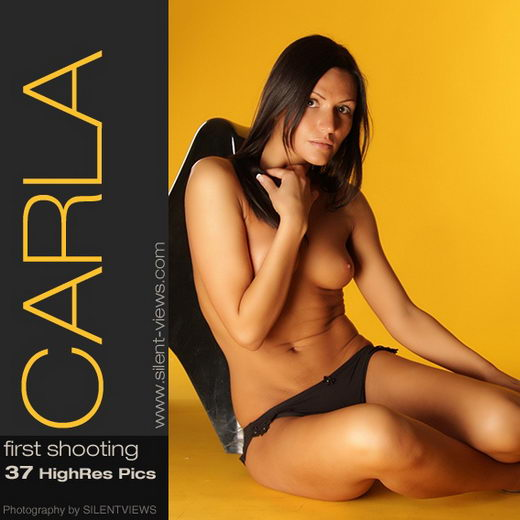 Carla - `#204 - First Shooting` - for SILENTVIEWS