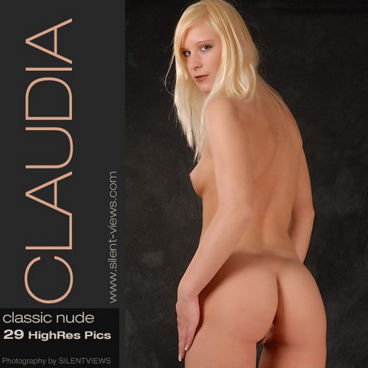 Claudia in #216 - Classic Nude gallery from SILENTVIEWS