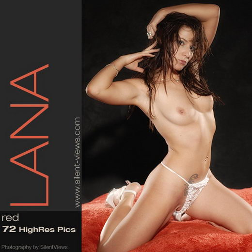 Lana in #219 - Red gallery from SILENTVIEWS