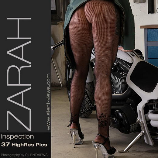 Zarah in #230 - Inspection gallery from SILENTVIEWS