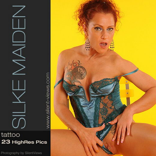 Silke Maiden - `#244 - Tattoo` - for SILENTVIEWS