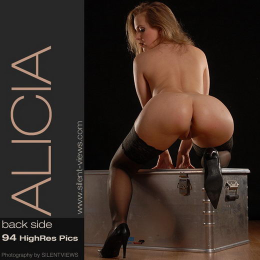 Alicia - `#243 - Back Side` - for SILENTVIEWS