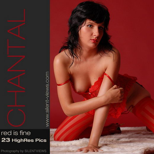 Chantal - `#248 - Red is Fine` - for SILENTVIEWS