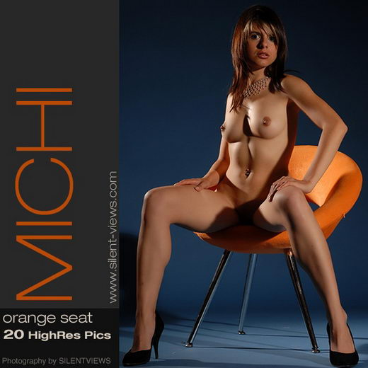 Michi - `#261 - Orange Seat` - for SILENTVIEWS