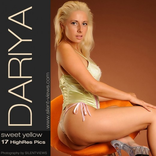 Dariya - `#649 - Sweet Yellow` - for SILENTVIEWS