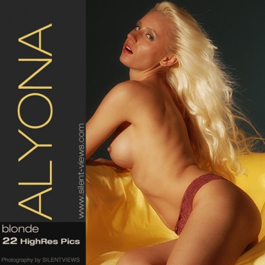 Alyona - `#654 - Blonde` - for SILENTVIEWS