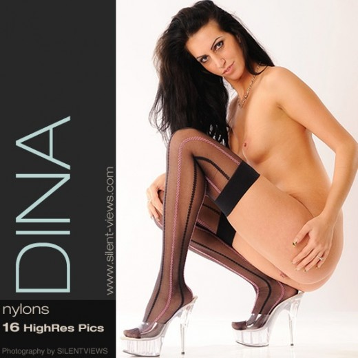 Dina - `#665 - Nylons` - for SILENTVIEWS