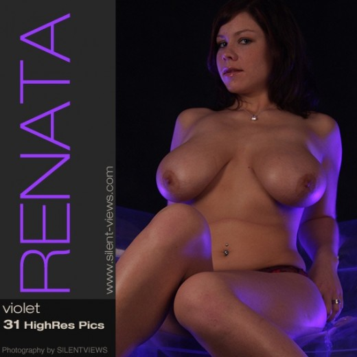 Renata - `#201 - Violet` - for SILENTVIEWS