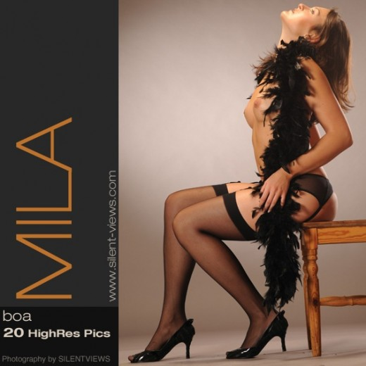 Mila - `#425 - Boa` - for SILENTVIEWS