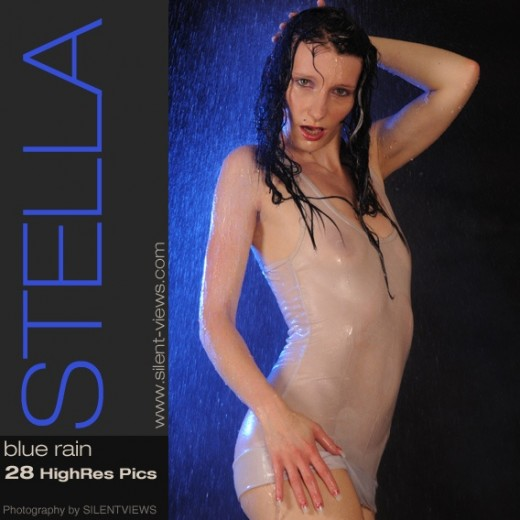 Stella - `#394 - Blue Rain` - for SILENTVIEWS