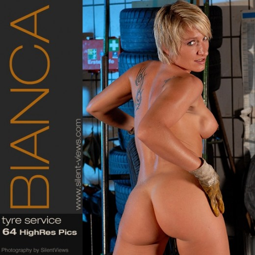 Bianca - `#118 - Tyre Service` - for SILENTVIEWS