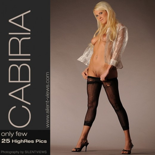 Cabiria - `#246 - Only Few` - for SILENTVIEWS