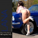 Lana in #25 - Blue Mustang gallery from SILENTVIEWS
