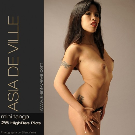 Asia de Ville - `#453 - Mini Tanga` - for SILENTVIEWS2
