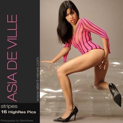 Asia de Ville - `#475 - Stripes` - for SILENTVIEWS2