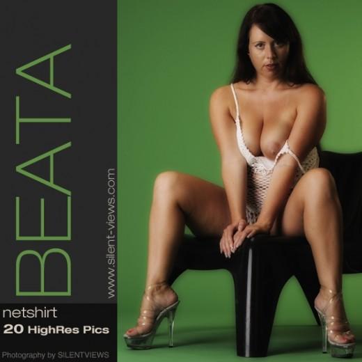 Beata - `#392 - Net Shirt` - for SILENTVIEWS2