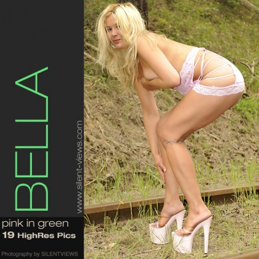 Bella - `#477 - Pink In Green` - for SILENTVIEWS2