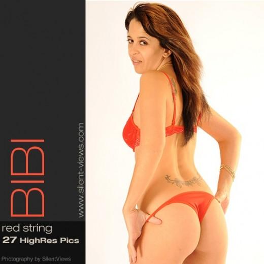 Bibi - `#518 - Red String` - for SILENTVIEWS2