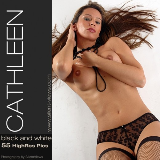 Cathleen - `#340 - Black And White` - for SILENTVIEWS2