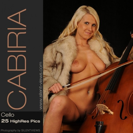 Cabiria - `#547 - Cello` - for SILENTVIEWS2