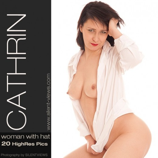 Cathrin - `#575 - Woman With Hat` - for SILENTVIEWS2