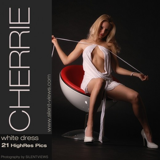 Cherrie - `#598 - White Dress` - for SILENTVIEWS2