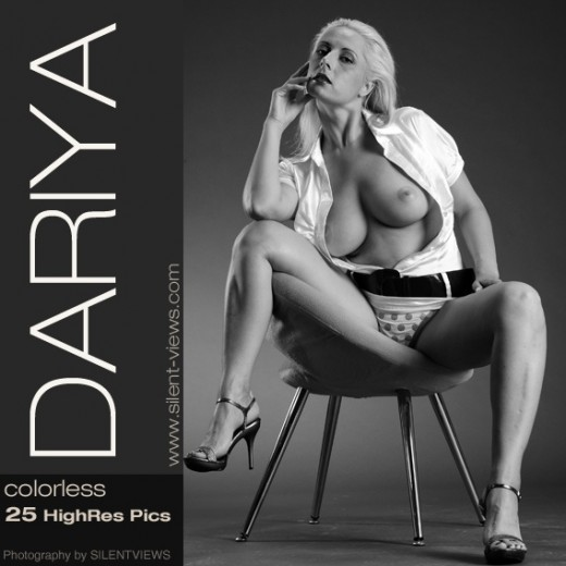 Dariya - `#376 - Colorless` - for SILENTVIEWS2