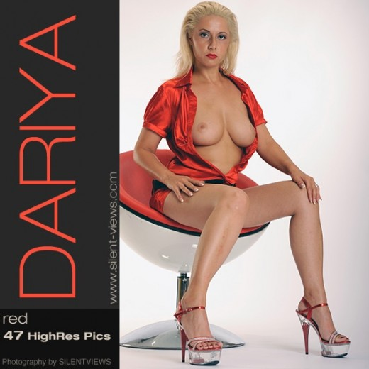 Dariya - `#560 - Red` - for SILENTVIEWS2