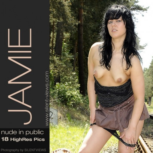 Jamie - `#489 - Nude In Public` - for SILENTVIEWS2