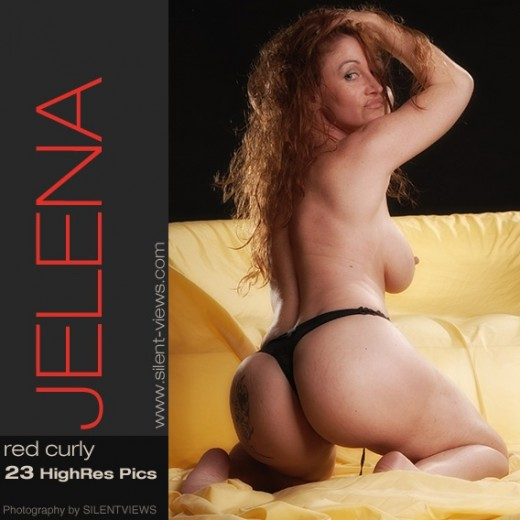 Jelena - `#627 - Red Curly` - for SILENTVIEWS2