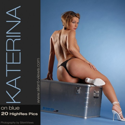 Katerina - `#317 - On Blue` - for SILENTVIEWS2