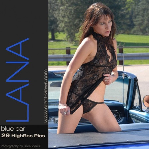 Lana - `#458 - Blue Car` - for SILENTVIEWS2