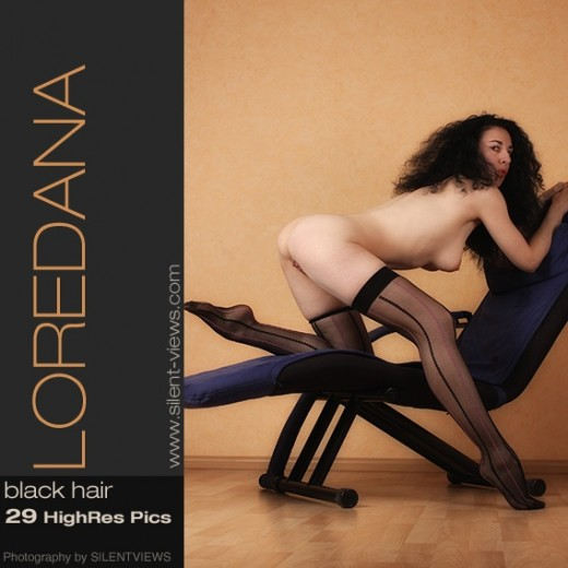 Loredana - `#583 - Black Hair` - for SILENTVIEWS2