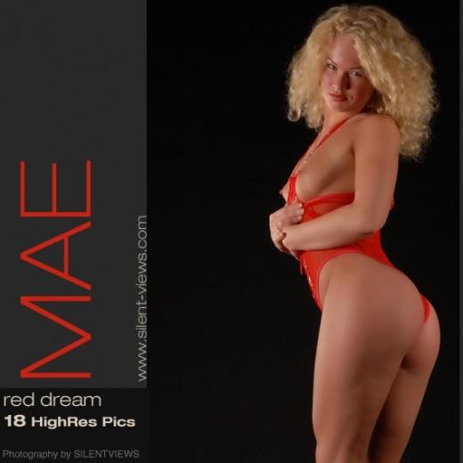 Mae - `#459 - Red Dream` - for SILENTVIEWS2