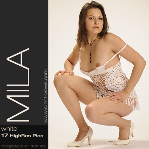 Mila - `#488 - White` - for SILENTVIEWS2