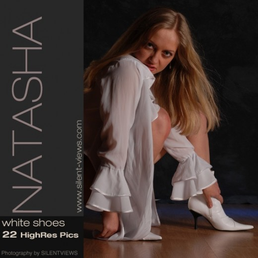 Natasha - `#397 - White Shoes` - for SILENTVIEWS2