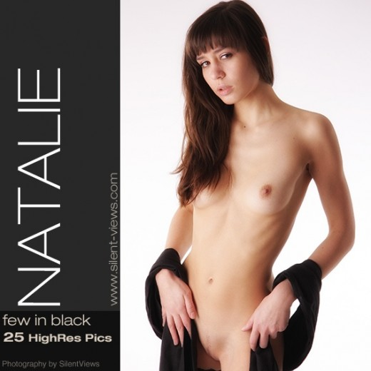Natalie - `#449 - Few In Black` - for SILENTVIEWS2