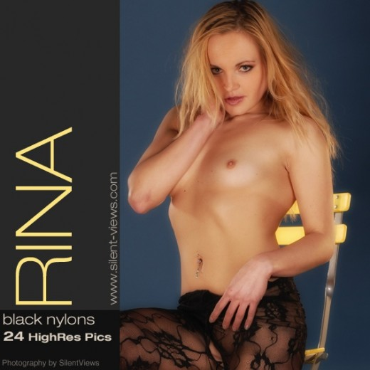 Rina - `#384 - Black Nylons` - for SILENTVIEWS2