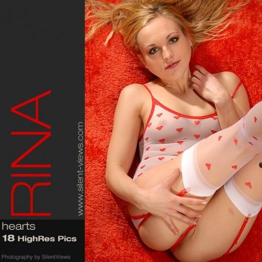 Rina - `#521 - Hearts` - for SILENTVIEWS2