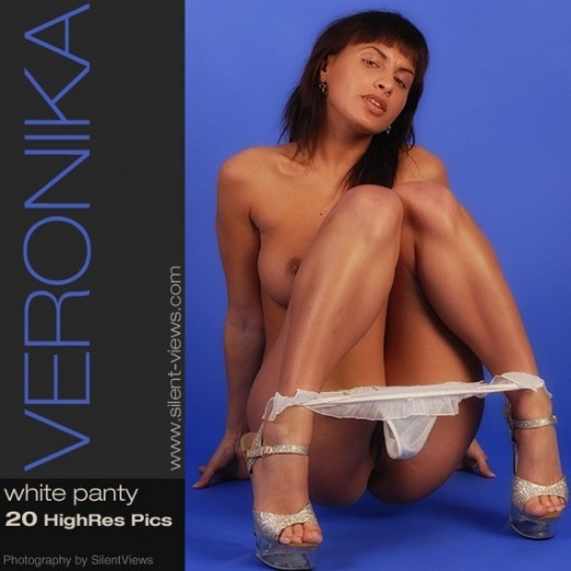 Veronika - `#428 - White Panty` - for SILENTVIEWS2