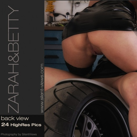 Zarah & Betty - `#389 - Back View` - for SILENTVIEWS2