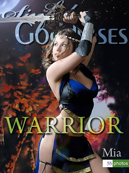 Mia - `Warrior` - by Nudero for SINGODDESS