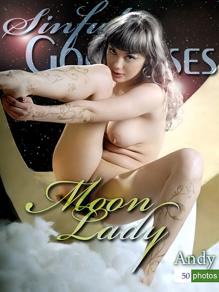 Andy - `Moon Lady` - by Nudero for SINGODDESS
