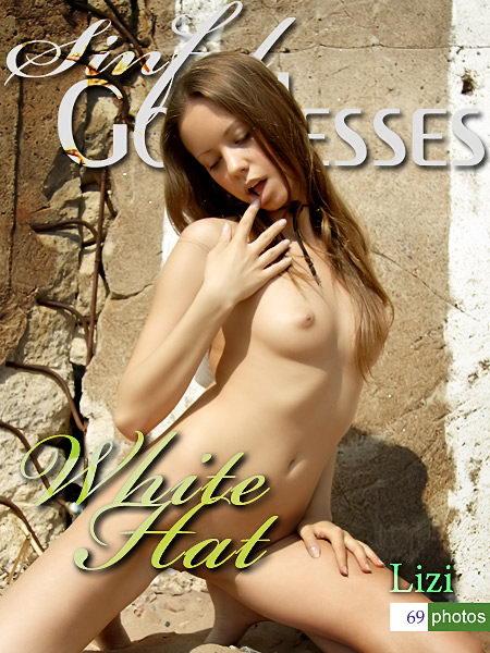 Lizi - `White Hat` - by Nudero for SINGODDESS
