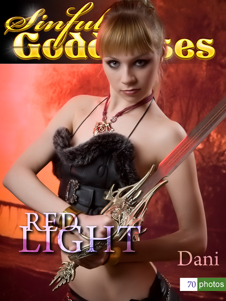 Dani - `Red Light` - by Nudero for SINGODDESS