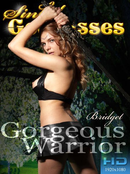 Bridget - `Gorgeous Warrior` - by Nudero for SINGODDESS